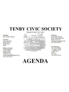 Tenby Civic Society Next Meeting